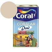 Tinta Acrílica Coralar Duo Fosco Areia 18L Coral