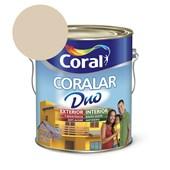 Tinta Acrílica Coralar Duo Fosco Areia 3.6l Coral