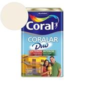 Tinta Acrílica Coralar Duo Fosco Branco Neve 18L Coral