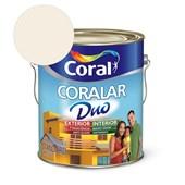 Tinta Acrílica Coralar Duo Fosco Branco Neve 3.6L Coral