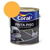 Tinta Acrílica Pinta Piso Fosco Amarelo Demarcação 3.6L Coral