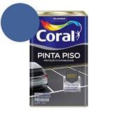 Tinta Acrílica Pinta Piso Fosco Azul 18l Coral