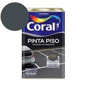 Tinta Acrílica Pinta Piso Fosco Cinza Escuro 18L Coral