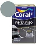Tinta Acrílica Pinta Piso Fosco Cinza Médio 18L Coral