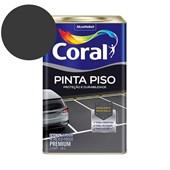Tinta Acrílica Pinta Piso Fosco Preto 18l Coral