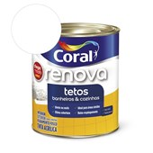 Tinta Acrílica Renova Banheiros E Cozinhas Fosco Branco 900ml Coral