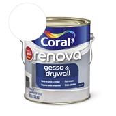 Tinta Acrílica Renova Gesso & Drywall Fosco Branco 3.6l Coral