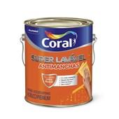 Tinta Acrílica Super Lavavel Eggshell Base Mf 3,2l Coral