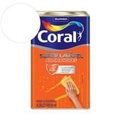 Tinta Acrílica Super Lavavel Eggshell Branco 18L Coral