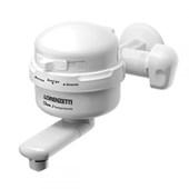Torneira Elétrica Para Cozinha De Parede Clean 3T 127V 4500W Branca Lorenzetti